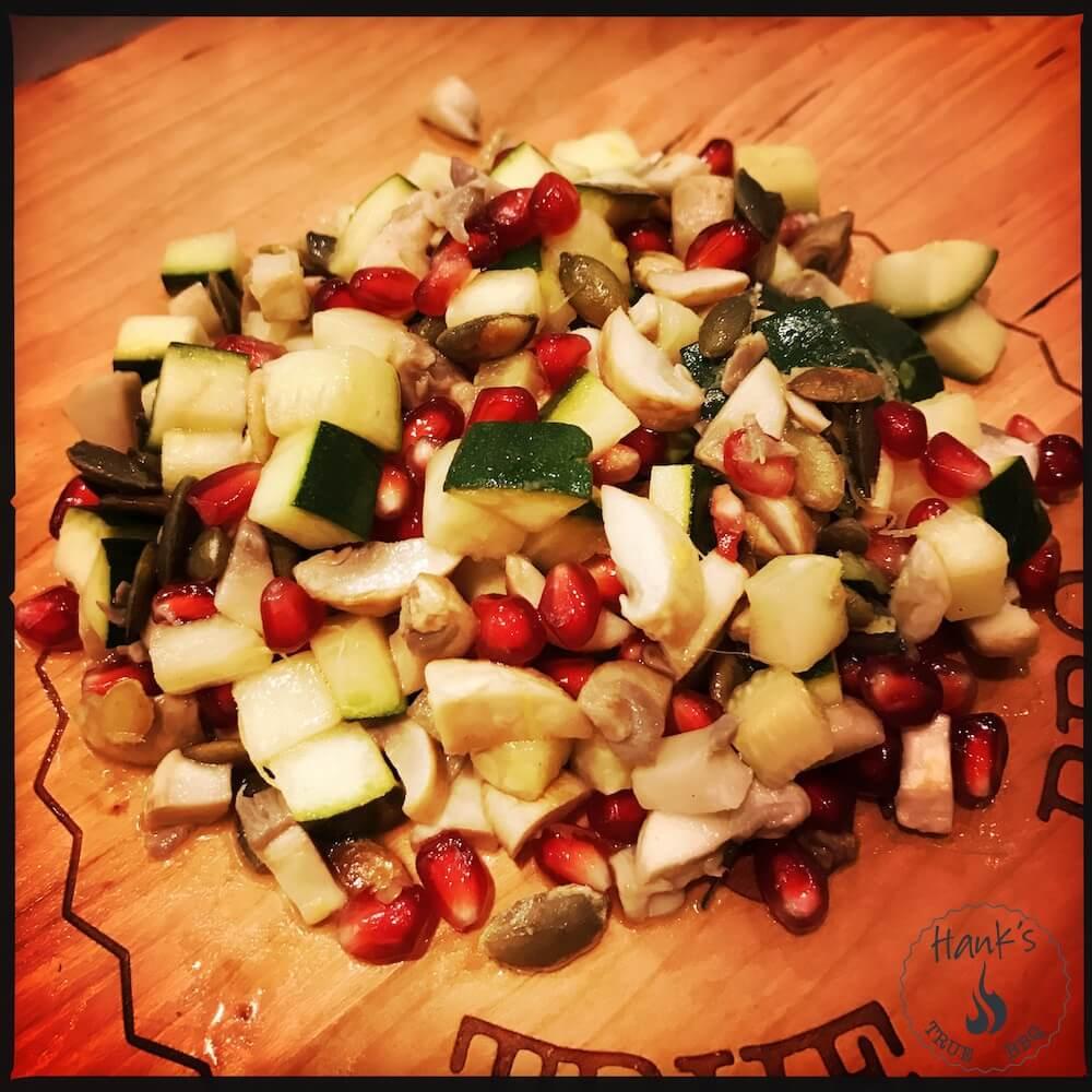 Zucchini-sallad