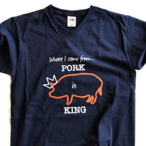 T-shirt framsida