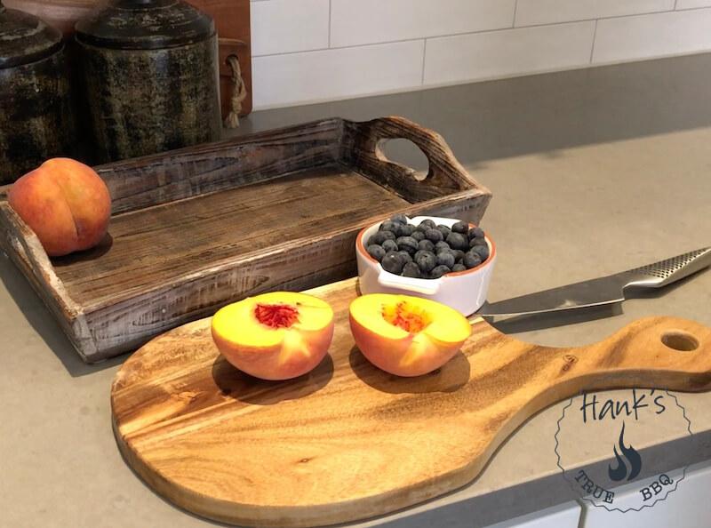 Delade persikor