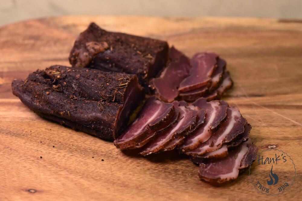 Biltong-kött