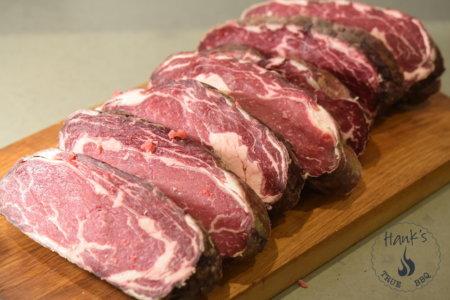 Hängmörat kött