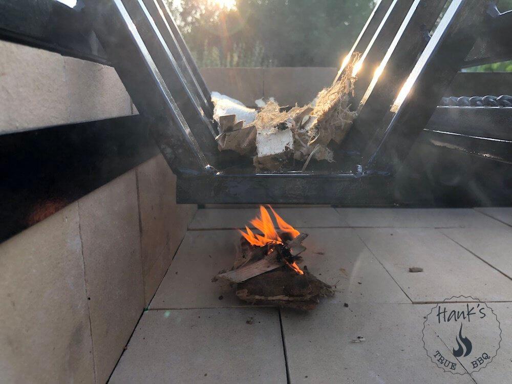 Så här tänder man eld i en Parrilla