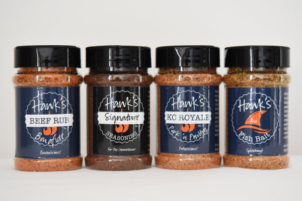 Hank's Rub Quadfecta