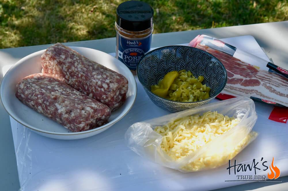 Ingredienser till Salsiccia Fatty