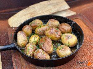 Potatis i Offset Smoker