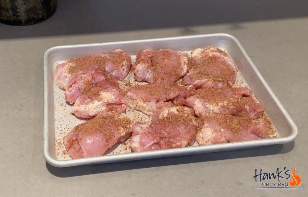 Vortex Chicken Thighs med rub