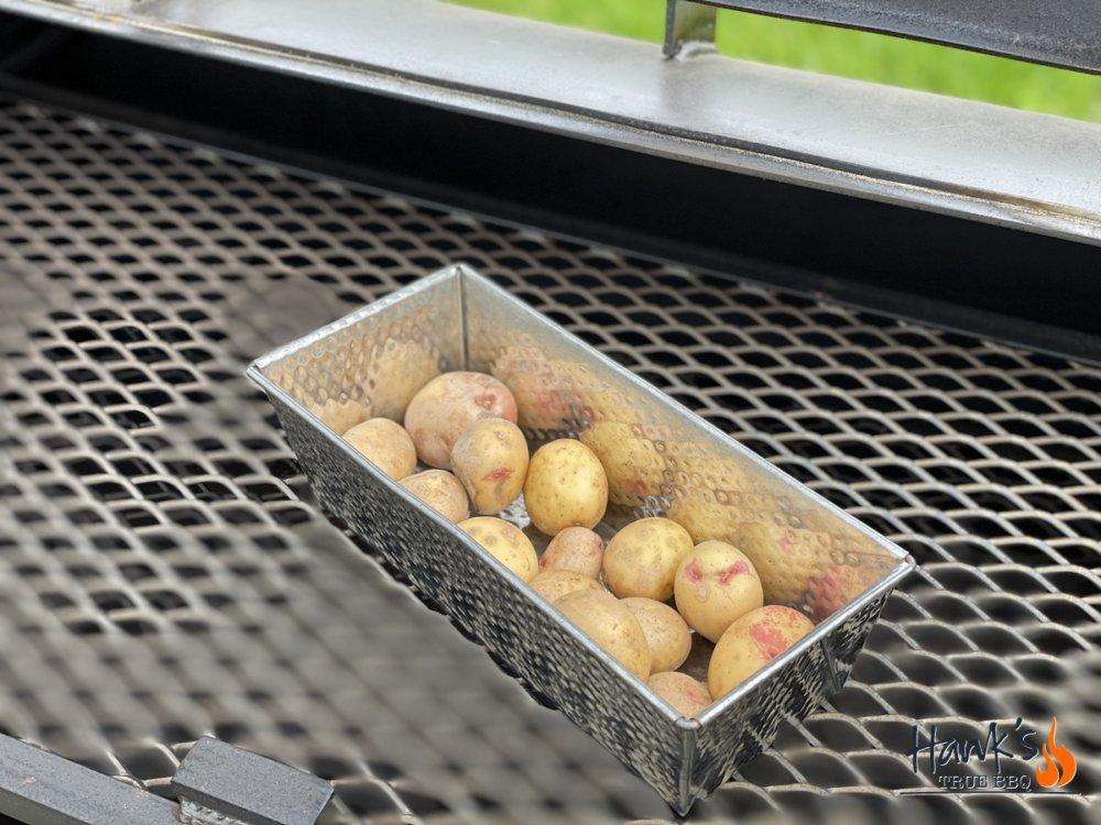 Confiterad potatis i brödform