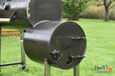 Hank's Offset Smoker - firebox
