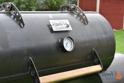 Hank's Offset Smoker - matkammare
