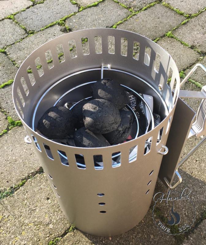 The snake method starter briquettes