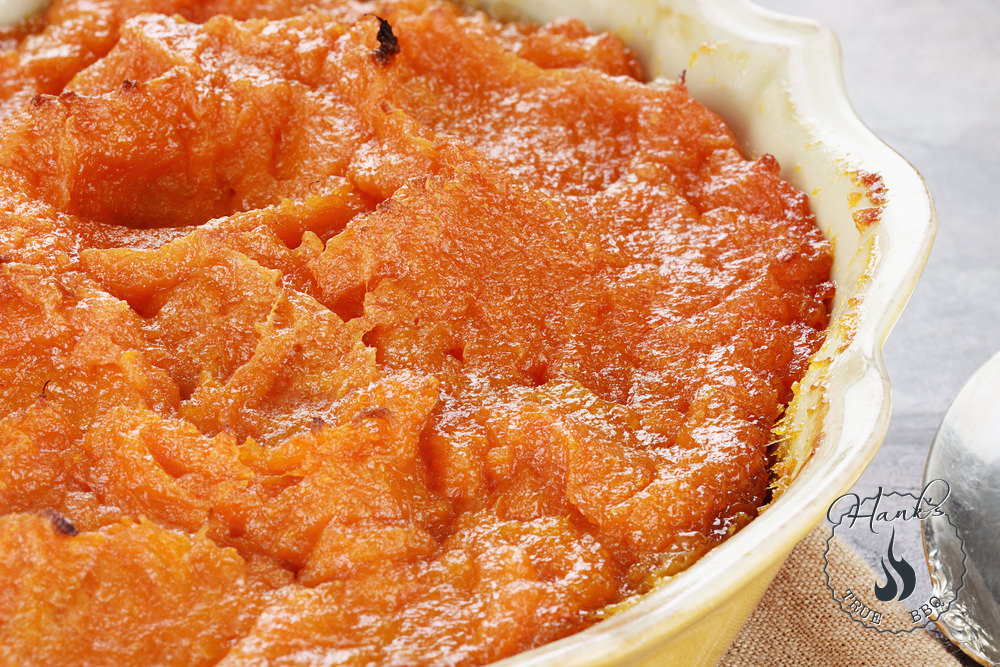 Sweet potato mash with cognac