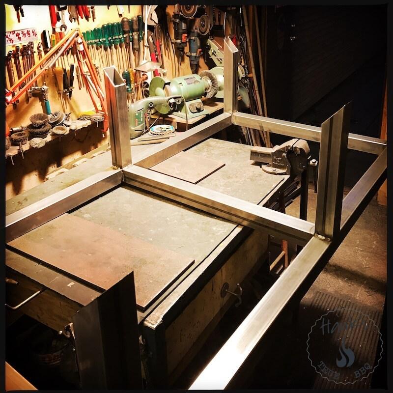 Build a custom bbq smoker part I - Hanks True BBQ™