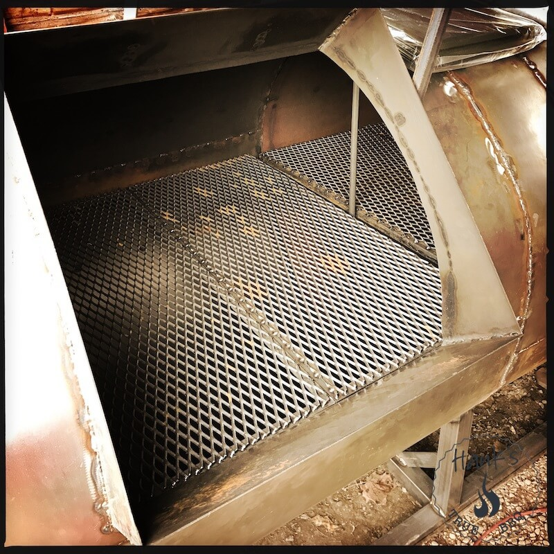 Grill grates manufactured and mounted