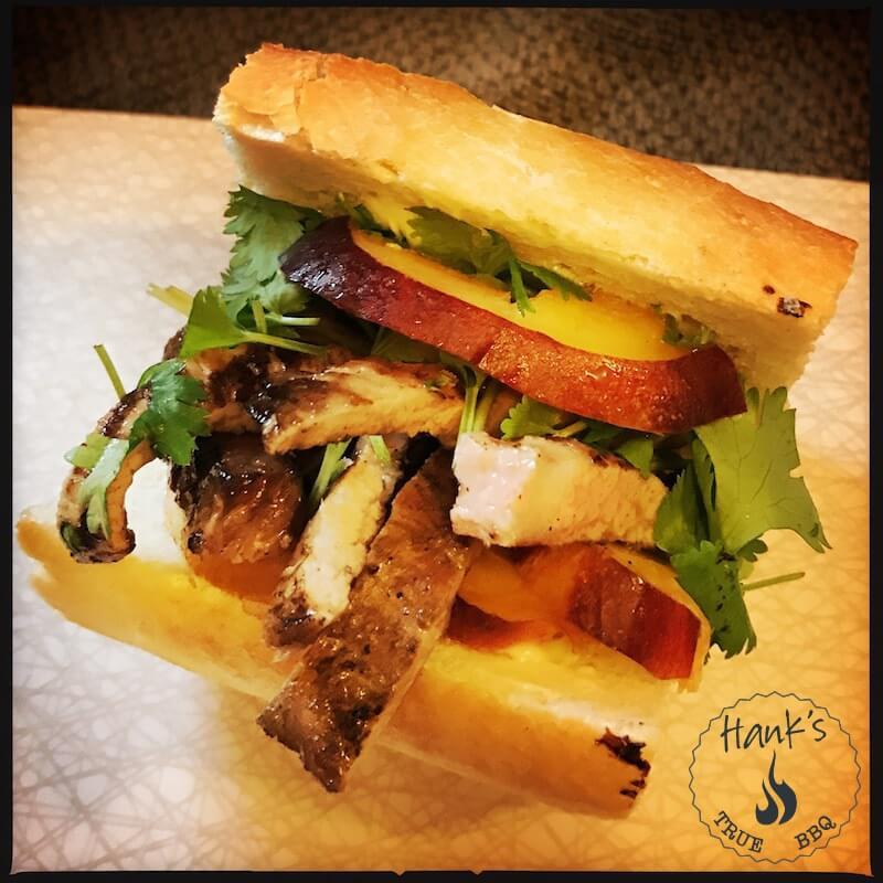 Secreto Iberico sandwich