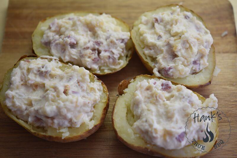 Twice Baked Potatoes, stuffed