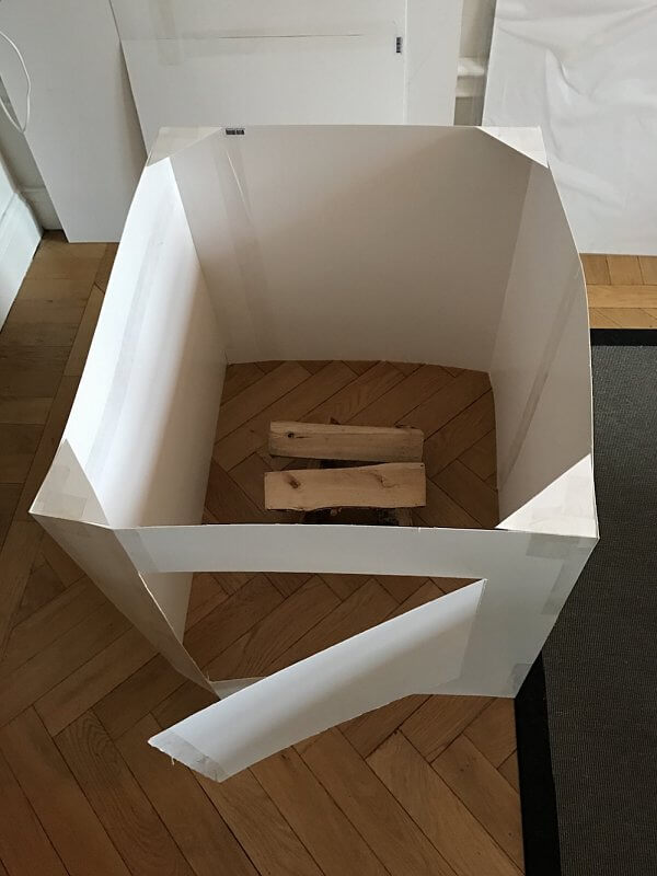Cardboard Firebox