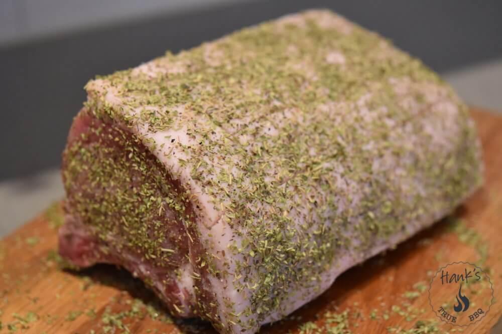 Pork Rib Roast with Herbs