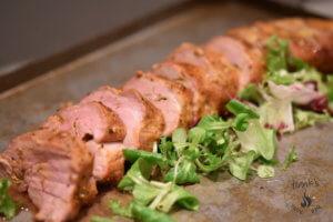 Pork Tenderloin with Curry Butter