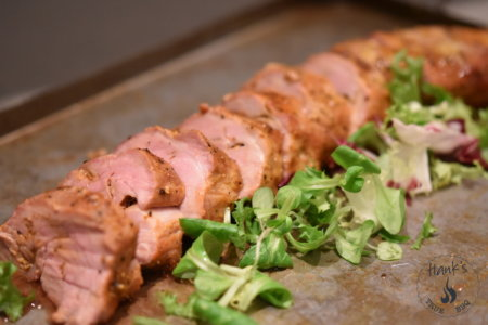 Pork Tenderloin with Curry Butter