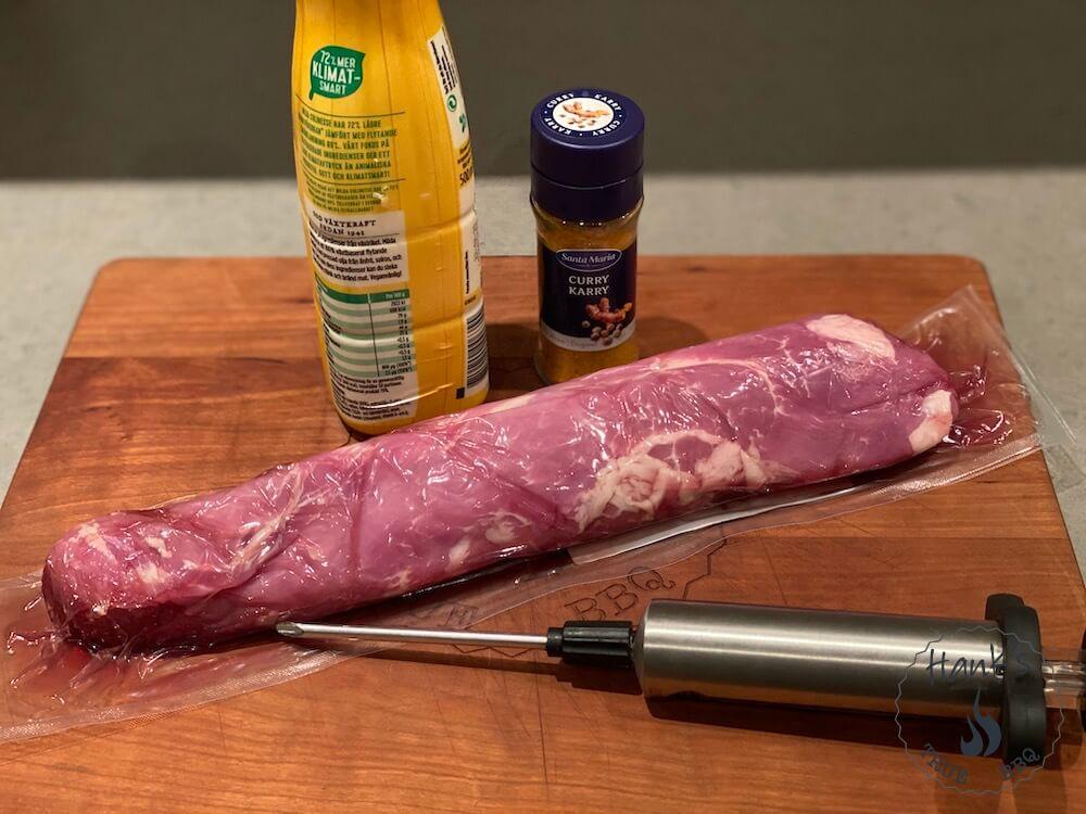 Pork tenderloin ingredients