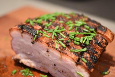 Crispy Smoked Pork Belly
