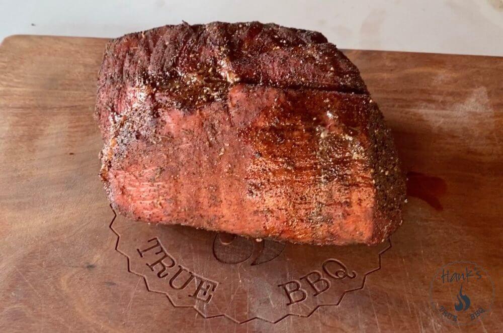 Veal roast after resting