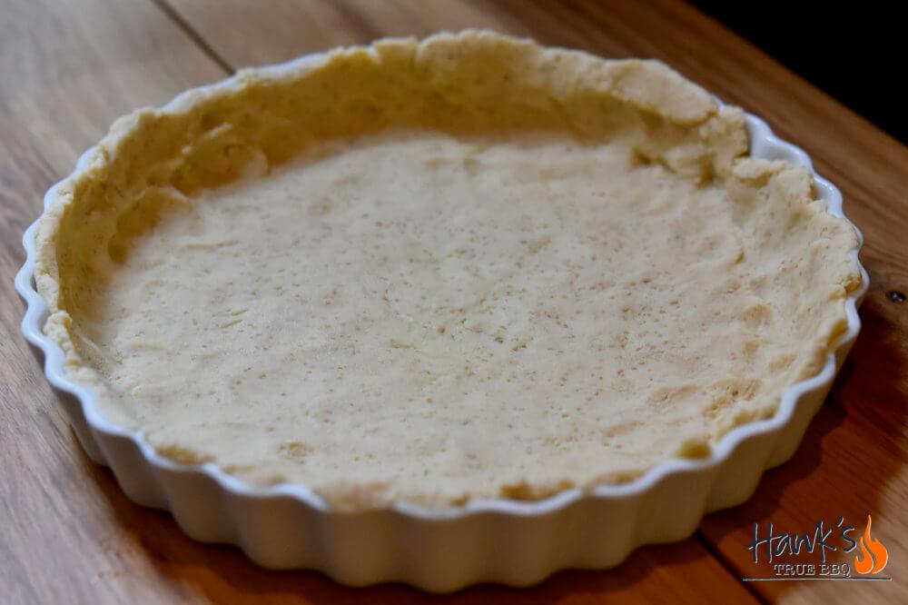Sweet potatoe pie - crust