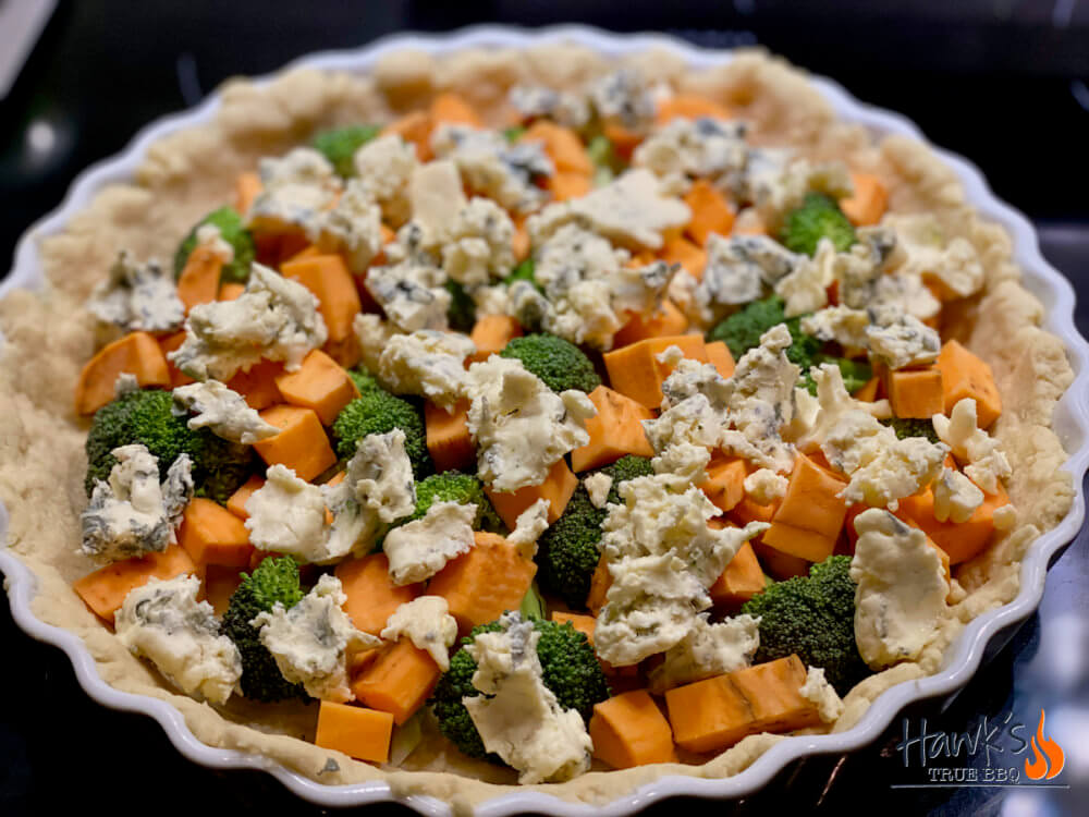 Blue cheese and sweet potato - stuffing