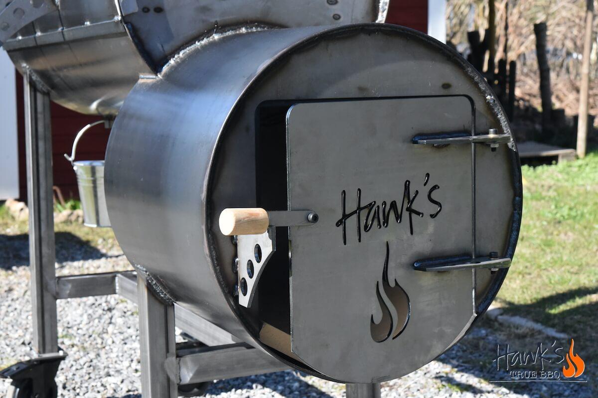 Hank's True Smokers™ - Firebox Door