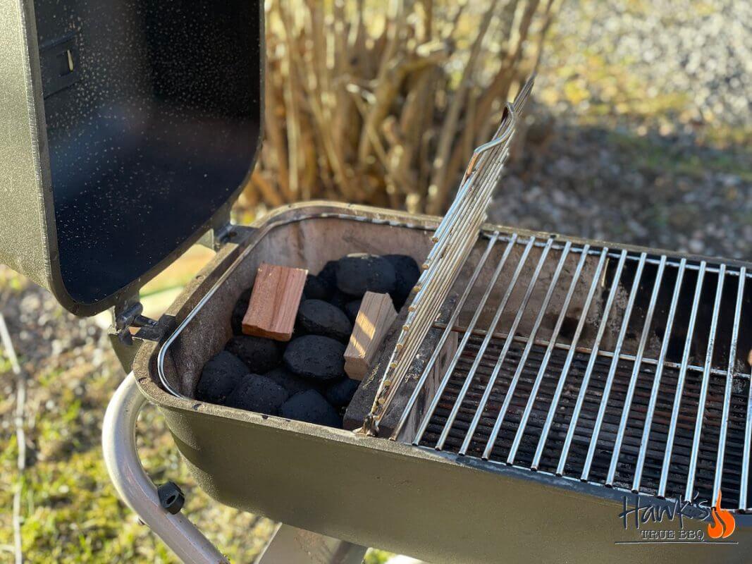 Rump Roast on indirect heat